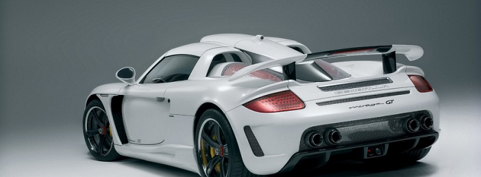 Rear white Gemballa
