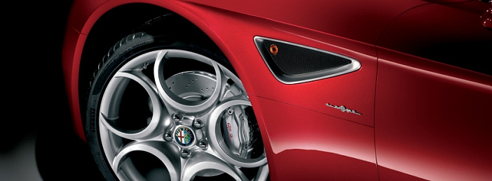 Alfa Romeo 8C wheel